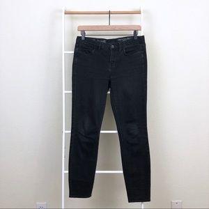 Madewell Black Denim Skinny Skinny Ankle Jeans.
